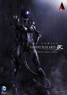 Final Fantasy designer Tetsuya Nomura takes Catwoman to the extreme - Yahoo Games