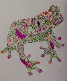 """""""Happy froggie :)) #milliemarotta #neon #maped #kores"""""""