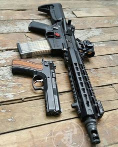 "CZ SP01 Tactical // 10.5"" SBR in 556. #gunsdaily #weaponsdaily #sickguns #merica…"
