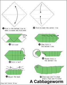 Hope you like the origami patterns! :) I and trying to put together an archive of origami diagrams for you and me to enjoy! Origami Simple, Kids Origami, Origami Love, Paper Crafts Origami, Origami Art, Origami Snake, Dragon Origami, Origami Star Box, Origami Fish