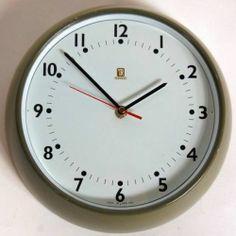 Original 1950s Vintage Retro White Faced Industrial Factory Slave Wall Clock | eBay
