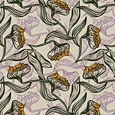 Cricket Song fabric by susanpolston on Spoonflower - custom fabric - #textile