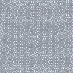 Tissu+coton+enduit+sakura+stone+blue.+Largeur+140cm.+Vendu+par+10+cm.