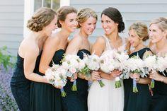J.crew bridesmaids, peonies, peony wedding bouquet, wisconsin farm wedding, film wedding photographer
