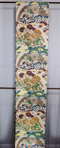 Vintage Japanese Maru obi kimono sash belt by SACHIandCOMPANY  SOLD