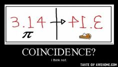 Coincidence? I think not!  I love it!