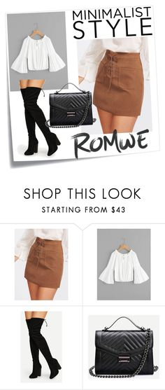 """romwe3"" by elvisa-mirsad ❤ liked on Polyvore featuring Post-It"