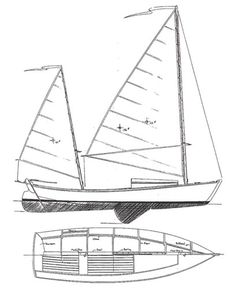 WINDWARD 21 - Daysailer/Cuddy Cruiser | Chesapeake Marine Design