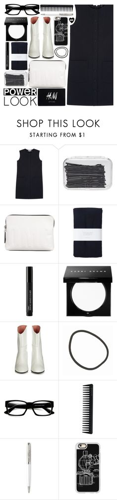 """""""LBD looks good on everyone"""" by foundlostme ❤ liked on Polyvore featuring Helmut Lang, H&M, Forever 21, 3.1 Phillip Lim, Bobbi Brown Cosmetics, Acne Studios, Muji, ZeroUV, GHD and Parker"""