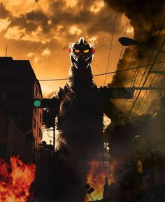 All Godzilla Monsters, Cool Monsters, Classic Monsters, Giant Monster Movies, Japanese Superheroes, Shadow Of The Colossus, Japanese Film, Mecha Anime, King Kong