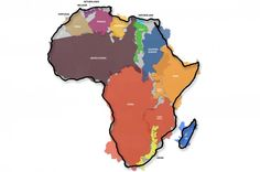 This Is The True Size Of Africa | IFLScience How large is Africa compared to the United States, or Western Europe? Most inhabitants of the latter places might guess it is a little larger, but few would have any idea of the scale of the difference. This has led German graphics designer Kai Krause to produce this map to shake people's perceptions a little.