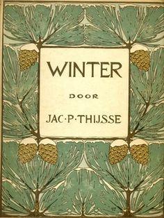 Winter, Herfst, Blonde Duinen en Bosch en Heide - 4 Verkade albums van Jac. P. Thijsse - hc - 1e druk