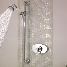 Bon Traditional Concealed Sequential Thermostatic Shower With Slide Rail Kit