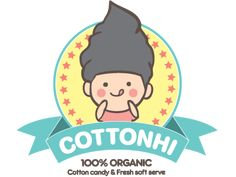 CottonHi organic cotton candy and soft serve!! Los Angeles.