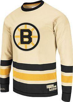 Mitchell   Ness Boston Bruins Open Ice Long Sleeve T-Shirt - Shop.Canada.NHL .com a89e10172