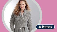 Lace jacket knitting pattern - download FREE from LoveKnitting!