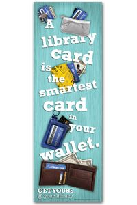 Library Card Sign-up Poster - Events and Celebrations - Posters - ALA Store Library Humor, Library Posters, Library Quotes, Library Books, Library Cards, Library Signs, Library Ideas, Reading Quotes, Book Quotes