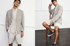 Tu Sainsburys Spring/Summer 2018 Men's Lookbook #white #footwear #clothing #outerwear #fashion #suit #formalwear #gentleman #male #shorts Sainsburys, Spring Summer 2018, Formal Wear, Gentleman, Looks Great, That Look, Footwear, Suits, Clothing
