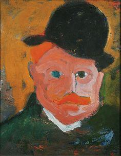 Derain, Andre - 1905 Portrait of Vlaminck