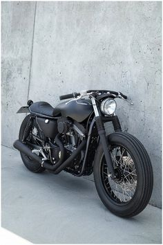 Black cafe racer