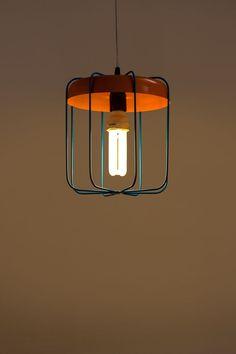 Lantern Wire Lamp - The Purple Turtles