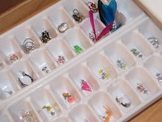 Earring Storage. how come ive never thought of this??