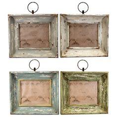 Rustic, chippy frames