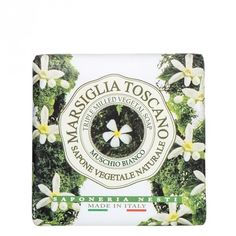 Soap Marsiglia Toscano-Muschio Bianco Nesti Dante 200 gr