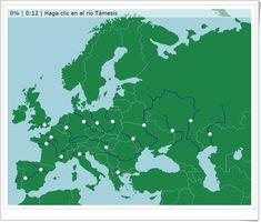Ríos de Europa (Juego de Geografía)
