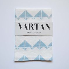 Hearts Handkerchief in Cool Blue >>> You can get additional details at the image link.