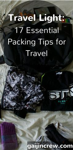 Packing Like A Pro And Traveling Light—My Ultimate Guide   Leaving on a jet  plane...   Pinterest   Travel light, Packing light and Asia travel 0ac04a6d71