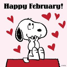It's February Snoopy! Snoopy Valentine, Valentines Day Holiday, Happy Valentines Day, Holiday Pics, Snoopy Christmas, Holiday Wishes, Valentine Ideas, Charlie Brown Quotes, Charlie Brown And Snoopy