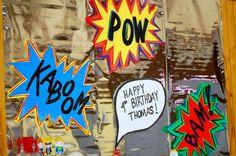 Superhero Birthday Party Ideas | Photo 1 of 30 | Catch My Party