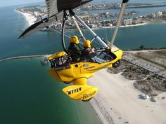 """Try """"Sky Surfing"""" Over Florida's Most Beautiful Beaches"""