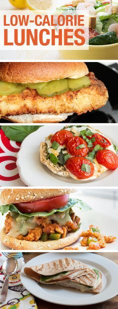 Great low-cal lunch ideas.