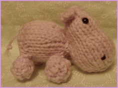 Ravelry: Little Hippo pattern by Raynor Gellatly