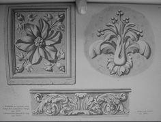 Beautiful book on classical ornament by Camillo Boito (1836-1914)-150 photos