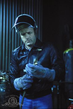 James Caan in THIEF (1981)...the flick Gosling's DRIVE is modeled after.