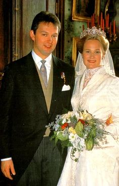 Hereditary Duke Friedrich of Wuerttemberg (*1961) and Princess Marie zu Wied (*1973)