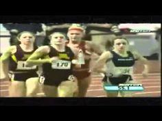 Heather Dorniden's Inspiring 600 meter race - YouTube
