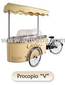 Italian Ice Cream Cart