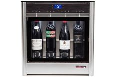 The QUATTRO wine dispenser and preservation model is perfect as an entry level behind the bar system or for home use. Wine Dispenser, Wine By The Glass, Wine Tasting Room, Wine Refrigerator, Wine Storage, Fine Wine, Wine Drinks, Wine Cellar, Interior Design Kitchen