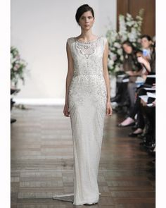 Super non-traditional Jenny Packham, but SO pretty
