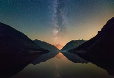 """This is Plansee in Austria. I was hoping to capture some shooting stars from the Perseids, but there wasn't much. It was a bit hazy and also quite a lot of light pollution, but it was an incredible, peaceful scenery nevertheless. A wonderful night at the lake. Check out the <a href=""""https://vimeo.com/136372886//"""">Timelapse Video</a>  <a href=""""http://www.blurb.com/user/store/hipydeus"""">boo..."""