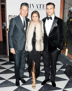 A Private Party - Stefano Tonchi, Olivia Palermo, and Johannes Huebl