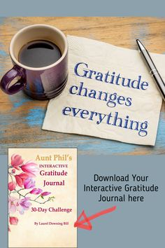 The process of writing in a gratitude journal offers many benefits. Writing is a powerful process. Sharing your written words of appreciation with others can have an even bigger impact than journaling privately. Personal notes can really brighten a person's day, and the positive vibes are far-reaching. Click on the pin to learn more about how you can show gratitude through your words. #gratitude #gratitudejournal #mindfulness #journaling