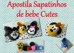 Apostila digital sapatinhos de bebe cutes