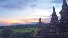 There are close to 4,000 temples in Bagan, which is located in Myanmar.