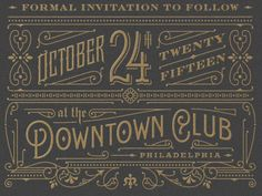 Typographic Designs by Dan Gretta   From up North
