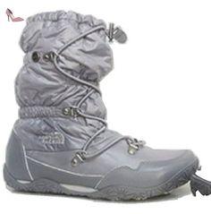 7820a185f8 Ladies North Face ICE plat Gris brillant QUEEN Chaussures de marche pour  l'hiver Taille